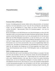 Jahresbilanz 2012 - Bodensee Therme Konstanz