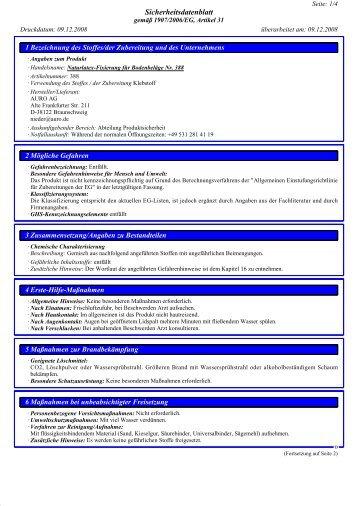 Teppich-Fixierung Nr. 388 - Auro (CH)