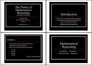 Introduction Mathematical Reasoning - NIE Mathematics ...