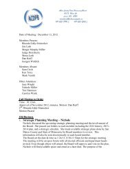 December Monthly Meeting - Allen County Auditor