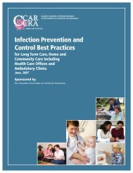 Infection Prevention and Control Best Practices - College ...