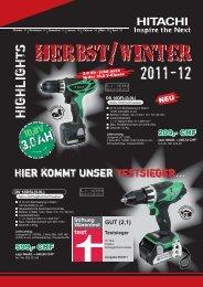 HIGHLIGHTS - Werkzeuglade.ch