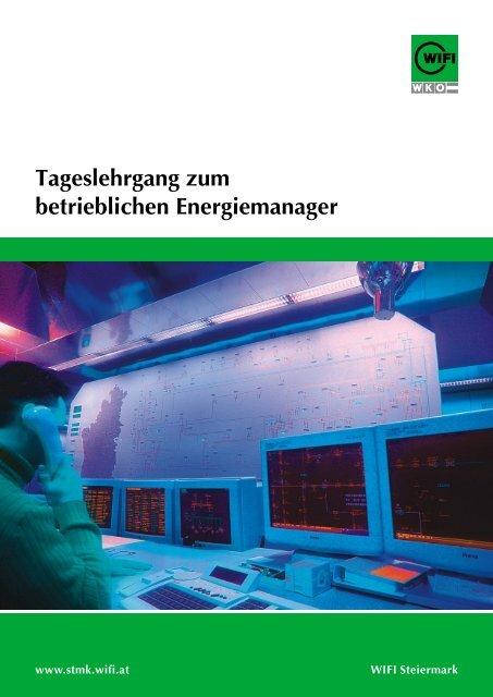 Tageslehrgang zum betrieblichen Energiemanager