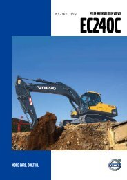PELLE HYDRAULIQUE VOLVO - Volvo Construction Equipment