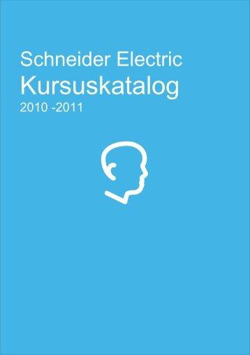 Schneider Electric Kursuskatalog 2010-2011.pdf - Tac