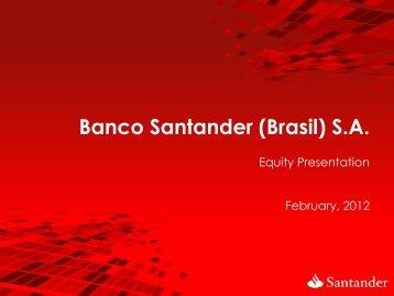 Final Remarks - Santander