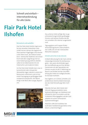 Flair Hotel Ilshofen Restaurant Speisekarte
