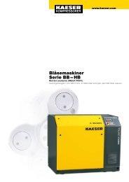 Blåsemaskiner Serie BB – HB - KAESER Kompressorer