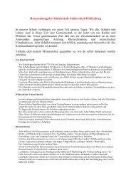 Hausordnung der Mittelschule Mallersdorf-Pfaffenberg