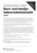 Barnpastor A4.indd - EFS Mittsverige - Page 2