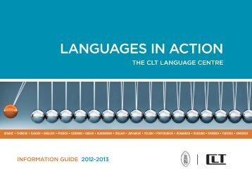 LANGUAGES IN ACTION - Centrum voor Levende Talen