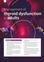 thyroid dysfunction in adults - Bpac.org.nz