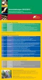 Veranstaltungskalender 2012/2013 - Städtische Musikschule ...