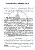 sofia - Bulgarian Stock Exchange - Page 3