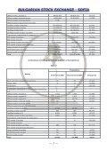 sofia - Bulgarian Stock Exchange - Page 7