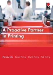 A Proactive Partner in Printing - Marabu Printing Inks