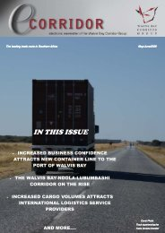 Download May-June 2009 issue - Walvis Bay Corridor Group