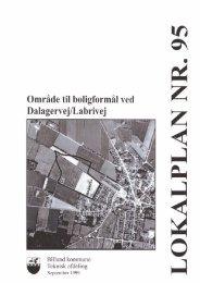 Lokalplan 95, Vorbasse - Billund Kommune