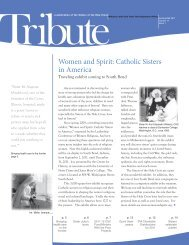 Women and Spirit: Catholic Sisters in America - Sisters of the Holy ...
