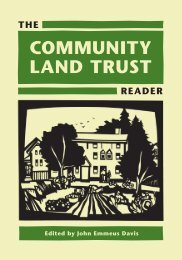 No Foreclosures Here - National Community Land Trust Network