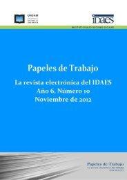 Descargar el número 10 completo - Instituto de Altos Estudios ...
