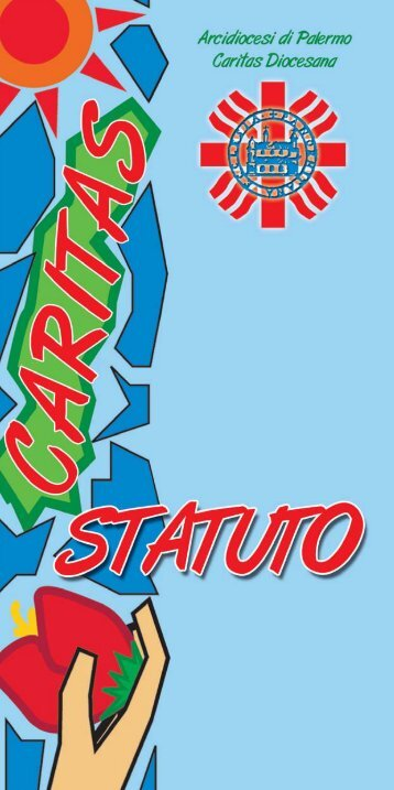 PDF Broschure Statuto - Caritas Diocesana di Palermo