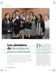 du baccalauréat franco-américain - Lycée Français de New York