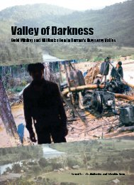 Valley of Darkness - Burma Campaign UK