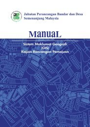 Manual GIS Versi Julai 2009 - JPBD