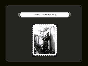 Leonard Mercier & Family