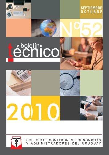 BOLETIN TECNICO 52.cdr - Español (Formal Internacional)
