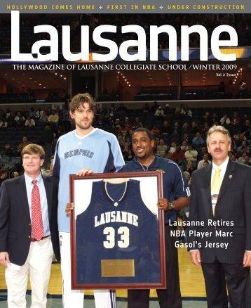 lausanne Retires NBA Player marc Gasol's Jersey