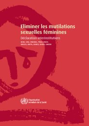 Eliminer les mutilations sexuelles féminines - inmp