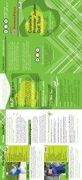 2011 MJT Brochure - Maple Leaf Junior Golf Tour