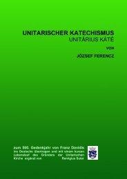 UNITARISCHER KATECHISMUS