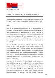 Informationen zu den Mitausstellern des Bremer ...