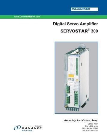 Servostar 300 инструкция - фото 4