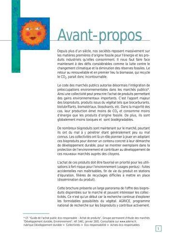 bioproduits - Préfecture de la Région Bourgogne et de la Côte-d'Or