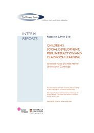 children's social development, peer interaction and classroom learning