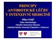 Antibiotická léčba v intenzivní medicíně - LF