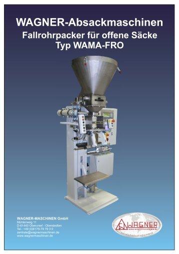 Typ WAMA-FRO - WAGNER Maschinen GmbH