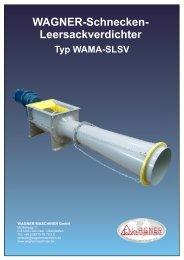Leersackverdichter Typ WAMA-SLSV - WAGNER Maschinen GmbH