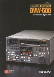 dvw500 - Video Data