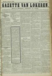 Zondag 1 Januari 1905. 62* Jaar N° 3154. Bureel en Werkhuizen ...