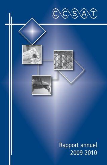 Rapport général annuel 2010 - Canadian Treatment Action Council