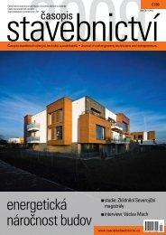 energetická náročnost budov - Časopis stavebnictví