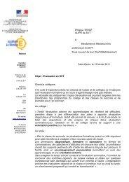Philippe TERCÉ IA-IPR de SVT à Mesdames et Messieurs les ...