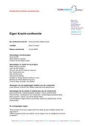 1. Voorbeeld case Eigen Kracht-conferentie.pdf 2 - StudieArena