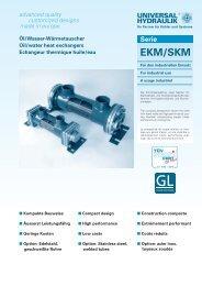 EKM/SKM - Universal Hydraulik