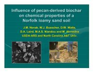 Influence of pecan-derived biochar on chemical properties of a ...